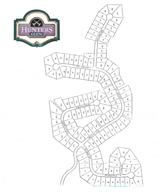 Hunters GlenCommunity Map